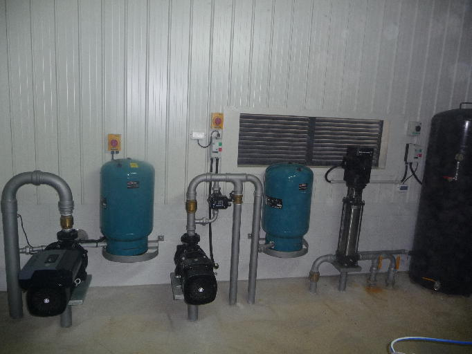 Dairy Shed Water Reticulation Pumpn