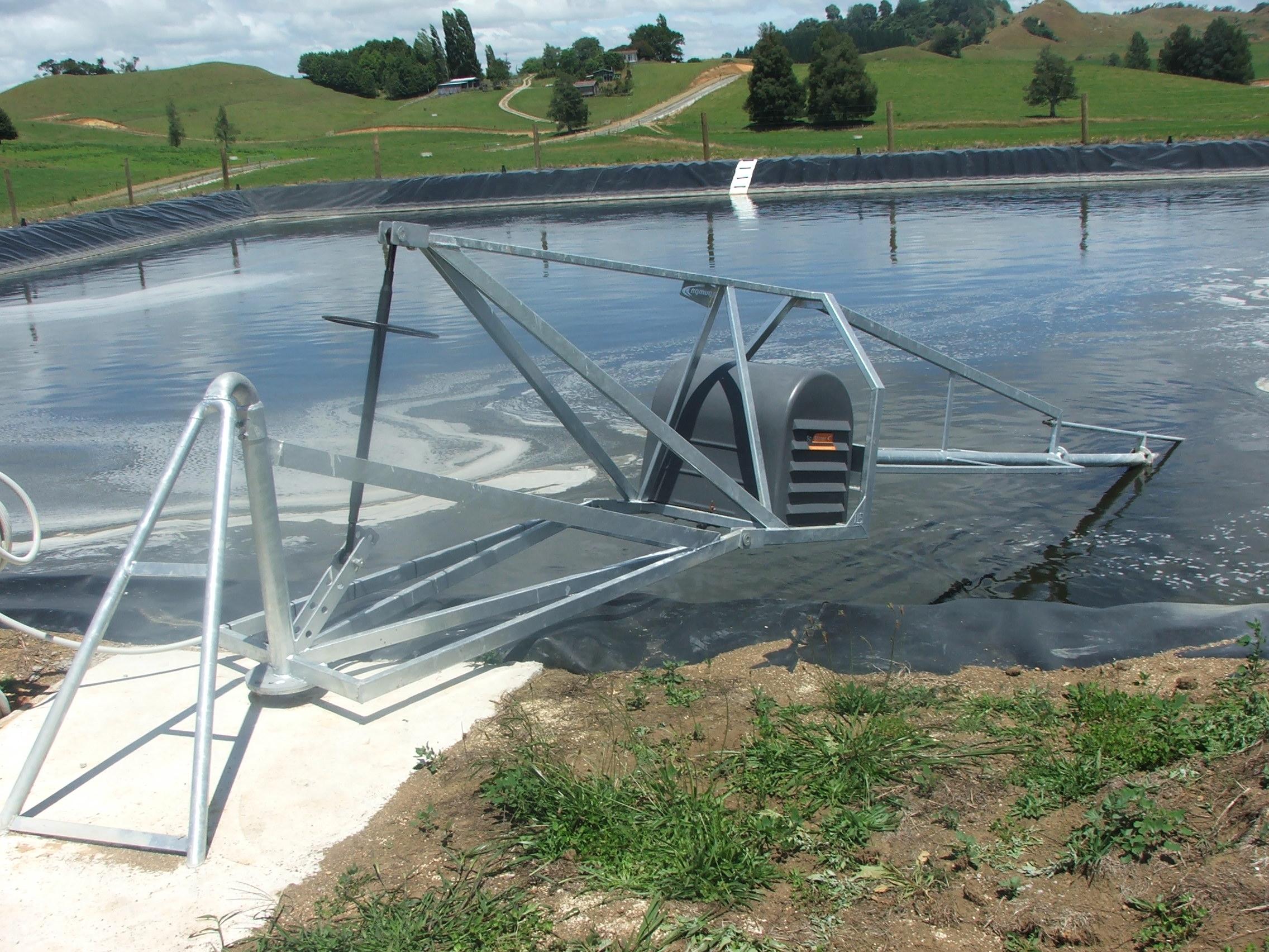 Sp stirrer - effluent pond